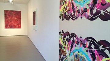Contemporary art exhibition, Elliot Collins, Chris Heaphy, Andre Hemer, Marie Le Lievre and Judy Millar, Five Painters at Bartley & Company Art, Wellington, New Zealand