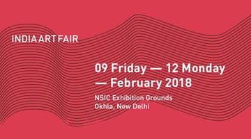 Contemporary art exhibition, India Art Fair 2018 at Galerie Mirchandani + Steinruecke, New Delhi, India