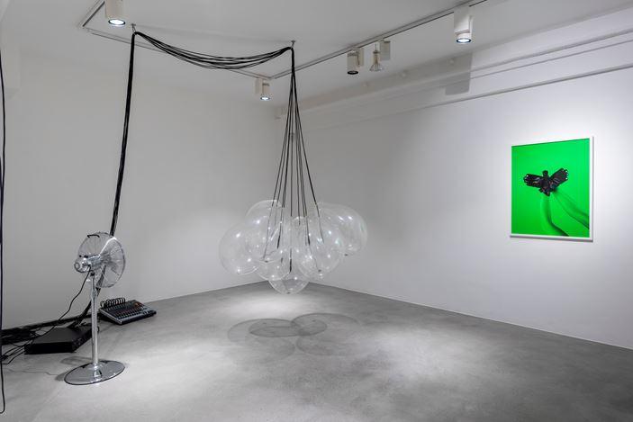 Exhibition view: Jonas Pequeno, /ˈfəʊli/ Foley, Huxley-Parlour, London (23 September–18 December 2020). CourtesyHuxley-Parlour.