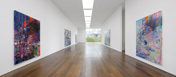 Exhibition view: Sarah Sze,Victoria Miro Gallery, Wharf Road, London (12 October–6 November 2021). © Sarah Sze. Courtesy the artist and Victoria Miro.