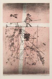 Seiltänzer by Paul Klee contemporary artwork works on paper