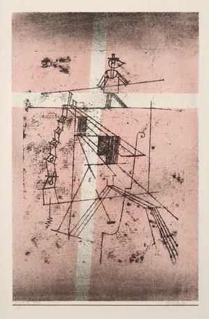 Seiltänzer by Paul Klee contemporary artwork