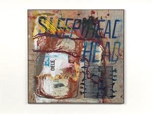 Untitled (sleepy head) by Mandy El-Sayegh contemporary artwork