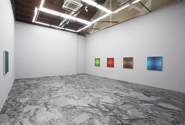 Exhibition view: Xie Molin, Light / Deposits, Beijing Commune, Beijing (3 June–16 August 2014). Courtesy Beijing Commune.