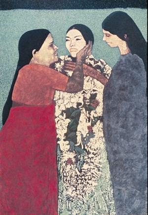 Congratulations by Gieve Patel contemporary artwork