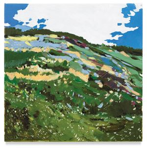 No Name (Hill) by Isca Greenfield-Sanders contemporary artwork