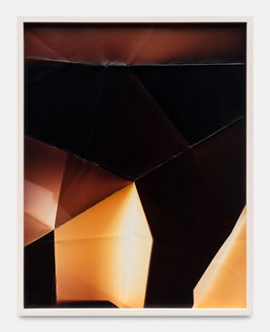Three Sided Picture (YRM), January 11, 2007, Santa Clarita, California, Fujicolor Crystal Archive by Walead Beshty contemporary artwork