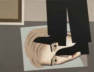 Standing on Matt by Gavin Hurley contemporary artwork painting