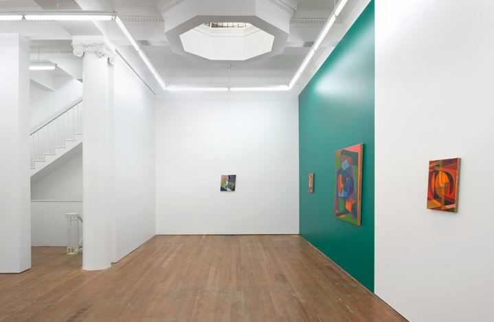 Exhibition view: Imogen Taylor, Betwixt and Between, Michael Lett, Auckland (19 June–20 July 2019). Courtesy Michael Lett.