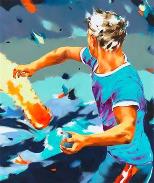 Attaboy by Norbert Bisky contemporary artwork