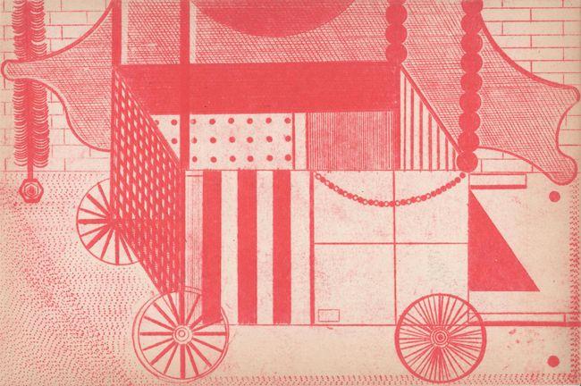 Cart by Sean Sullivan contemporary artwork