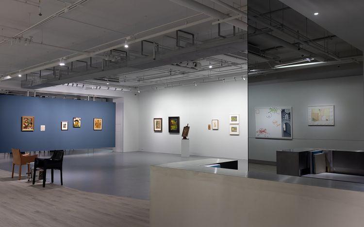Exhibition view: Yun Gee & Li-lan, Natural Influence,Tina Keng Gallery, Taipei (14 November–26 December 2021).Courtesy Tina Keng Gallery.