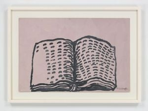 Untitled (Book) by Philip Guston contemporary artwork