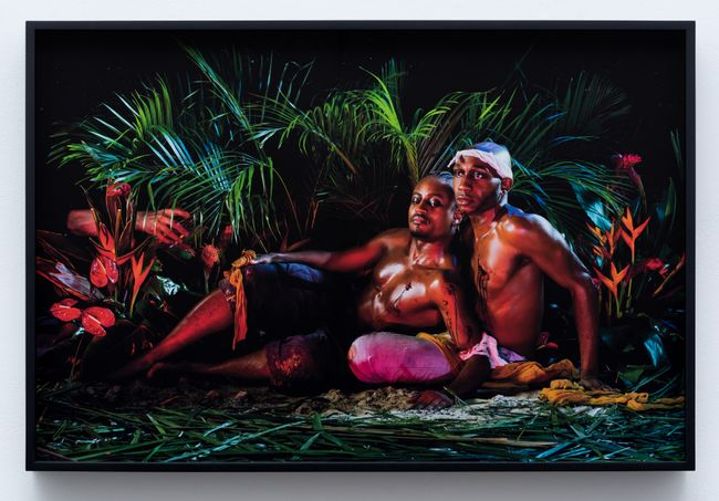 Blue Mountains and the Stain of William Thomas Beckford by Christopher Udemezue contemporary artwork