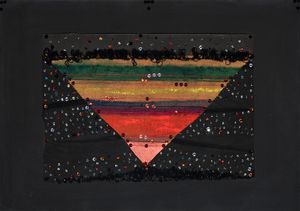 Upside-down Triangle by Clemen Parrocchetti contemporary artwork