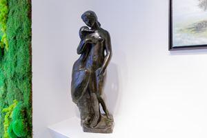 Léda et le Cygne by auguste Guénot contemporary artwork