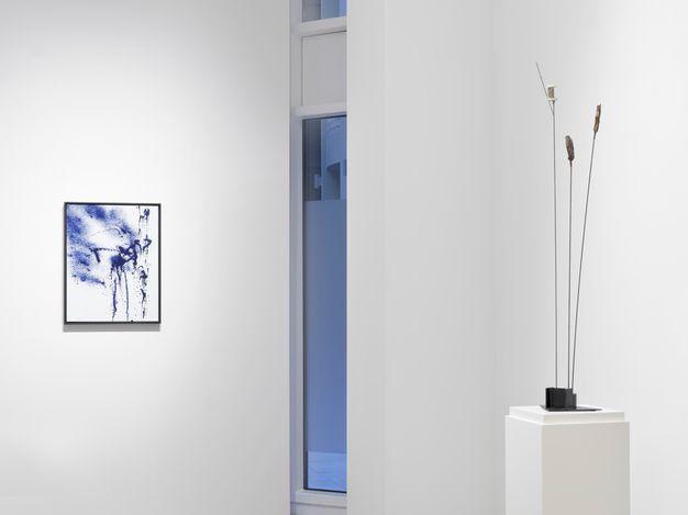 Exhibition view: Hans Hartung,7 Works 7 Spheres, SETAREH,Düsseldorf (12 February–17 April 2021). CourtesySETAREH.