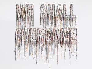 We Shall Overcome by Nari Ward contemporary artwork
