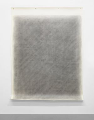 #14 Blue Stone by Michelle Stuart contemporary artwork painting, works on paper, drawing
