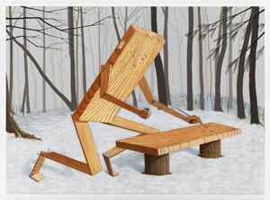 Plankboy (Pygmalion) by Sean Landers contemporary artwork