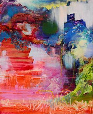 Broken Swing (after Fragonard) by Adrienne Gaha contemporary artwork