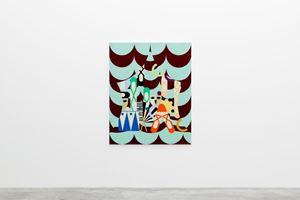 Cabaret by Farah Atassi contemporary artwork