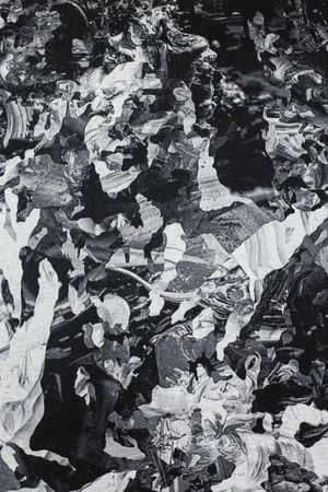 An Unraveling (Conversation Among Ruins, After Amorsolo) by Patricia Perez Eustaquio contemporary artwork