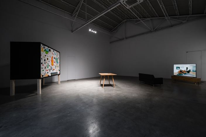 Exhibition view: Lin Aojie, Designers Have A Future only When They Treat Artworks as Initial Inspiration, ShanghART, Westbund, Shanghai (6 November–20 December 2019). Courtesy ShanghART.