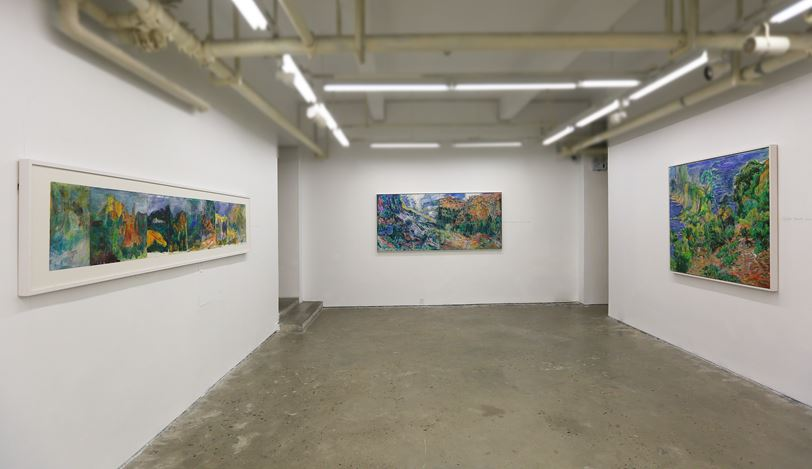Exhibition view: Qi Lan and Tu Hongtao, Uninhibited Scenery Ⅱ, A Thousand Plateaus Art Space, Chengdu (26 April–30 June 2019). CourtesyA Thousand Plateaus Art Space, Chengdu.