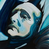 The Allnighter by Clare Woods contemporary artwork painting