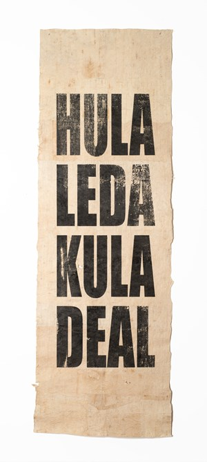 Untitled (HULA/LEDA/KULA/DEAL) by Newell Harry contemporary artwork