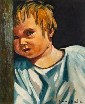 Portrait d'enfant by Francis Picabia contemporary artwork