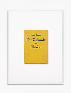 Sigmund Freud, Die Zukunft einer Illusion, 1927, 1.-50. Tausend, Internationaler Psychoanalytischer Verlag, Wien by Annette Kelm contemporary artwork print
