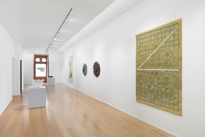 Exhibition view: Mai-Thu Perret, Flowers in the Eye, Simon Lee Gallery, New York (15 September–17 October 2020). Copyright the artist. Courtesy the artist and Simon Lee Gallery.
