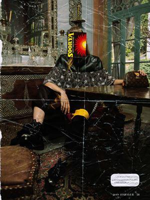 Influencer 01 by Muvindu Binoy contemporary artwork