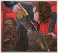 Abracadabra by Trey Abdella contemporary artwork painting, mixed media, textile