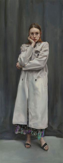 Nina Standing by Pang Maokun contemporary artwork