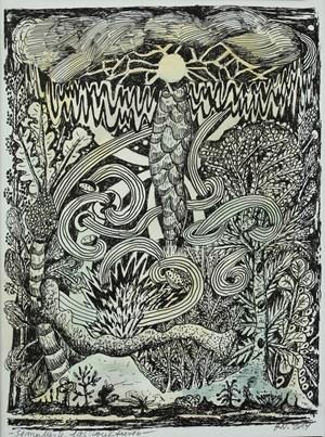 Simulierte Gasstrukturen by Hartmut Neumann contemporary artwork