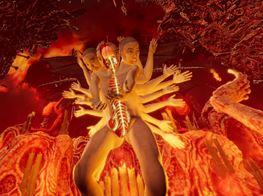 Lu Yang Destroys Self in Motion Capture Performance