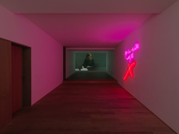 Exhibition view: Tracey Emin, The Memory of your Touch, Xavier Hufkens, Brussels (8 September–21 October 2017). Image courtesy Xavier Hufkens, Brussels. Photo: Allard Bovenberg.