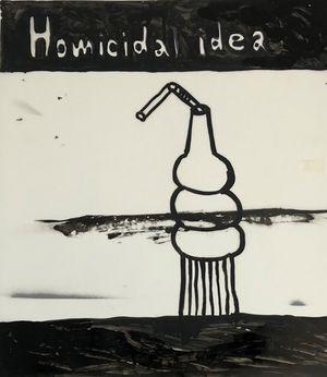 Homicidal - idea by Rae Sim contemporary artwork