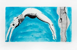 Triptych for the red room, centre by Louise Bourgeois contemporary artwork