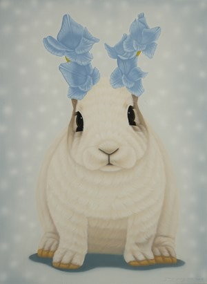 Antic and Rabbit by Jung Sung One contemporary artwork