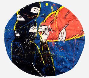 Love #3 by Eko Nugroho contemporary artwork