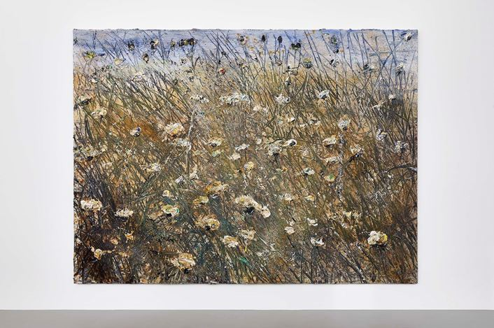 Exhibition view: Anselm Kiefer, Field of the Cloth of Gold, Gagosian, Le Bourget (7 February–19 June 2021). Artwork © Anselm Kiefer. Courtesy Gagosian. Photo: Thomas Lannes.