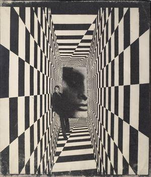 Arabesque by Mimmo Rotella contemporary artwork
