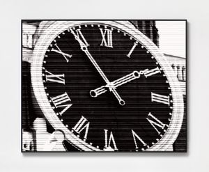 Moscow Time by Bettina Pousttchi contemporary artwork