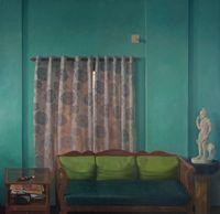 Home (Wall II) by Abir Karmakar contemporary artwork painting