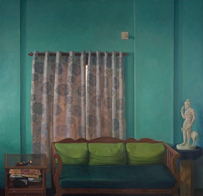 Home (Wall II) by Abir Karmakar contemporary artwork