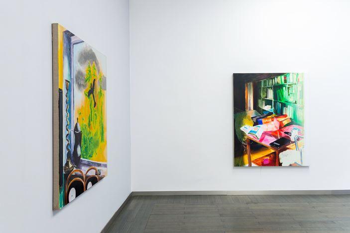 Exhibition view:Susanne Kühn, FLASH, Beck & Eggeling International Fine Art, Düsseldorf (19 January–27 February 2021).Courtesy Beck & Eggeling International Fine Art.